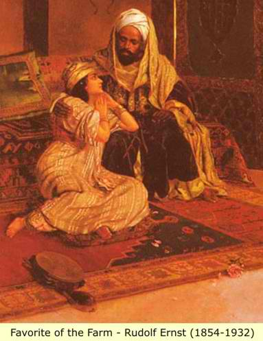 islam and women harem women Women were not imprisoned in the harem or in the veils and cloaks that concealed their bodies and faces on the street, but both customs were important signifiers of women's lack of sexual autonomy .