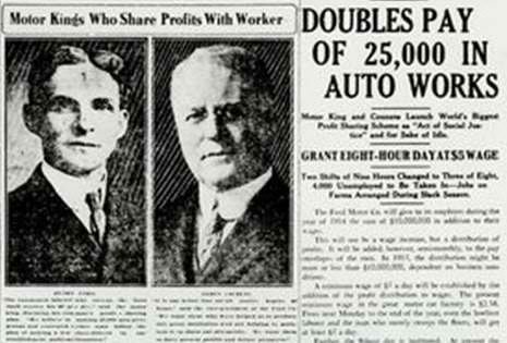 Henry Ford S Business Model Welfare Capitalism Rita