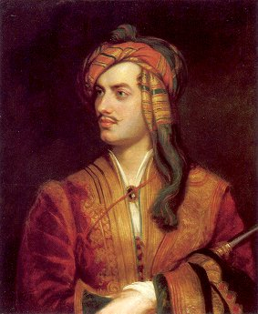 Lord Byron Albanian