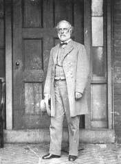 Robert E_ Lee just days after his surrender at Appomattox Court House by Matthew Brady, April 1865