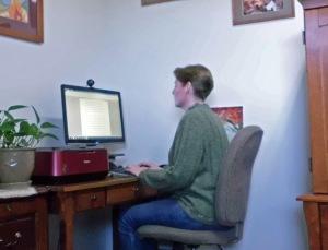 Author's desk