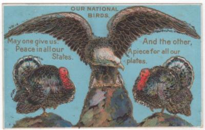 eagle& turkeys
