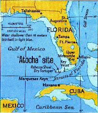 Atocha map