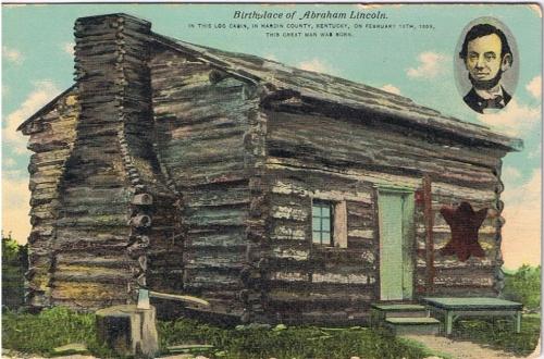 Lincoln log cabin rita bay s
